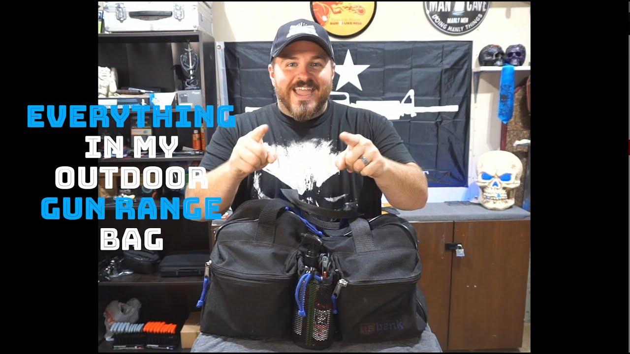Everything In My Outdoor Gun Range Bag
