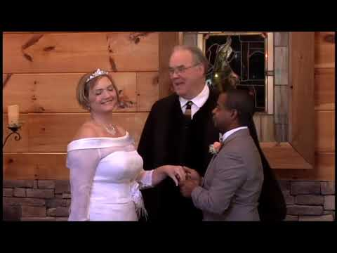 Jennings Mitchell Wedding Little Log Chapel Gatlinburg
