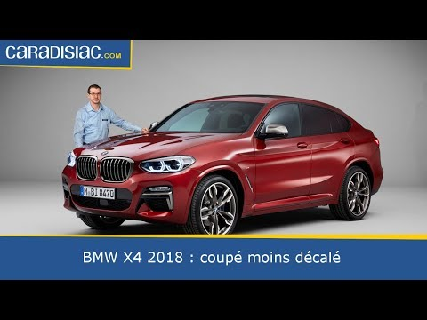 pr sentation bmw x4 2018 coup moins d cal youtube. Black Bedroom Furniture Sets. Home Design Ideas