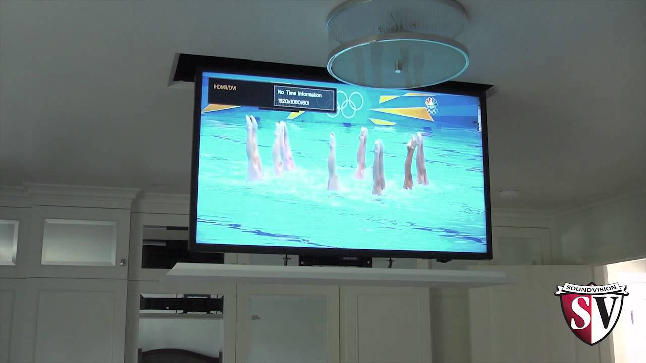 Motorized Plasma Tv Ceiling Drop Bracket Integralbook Com