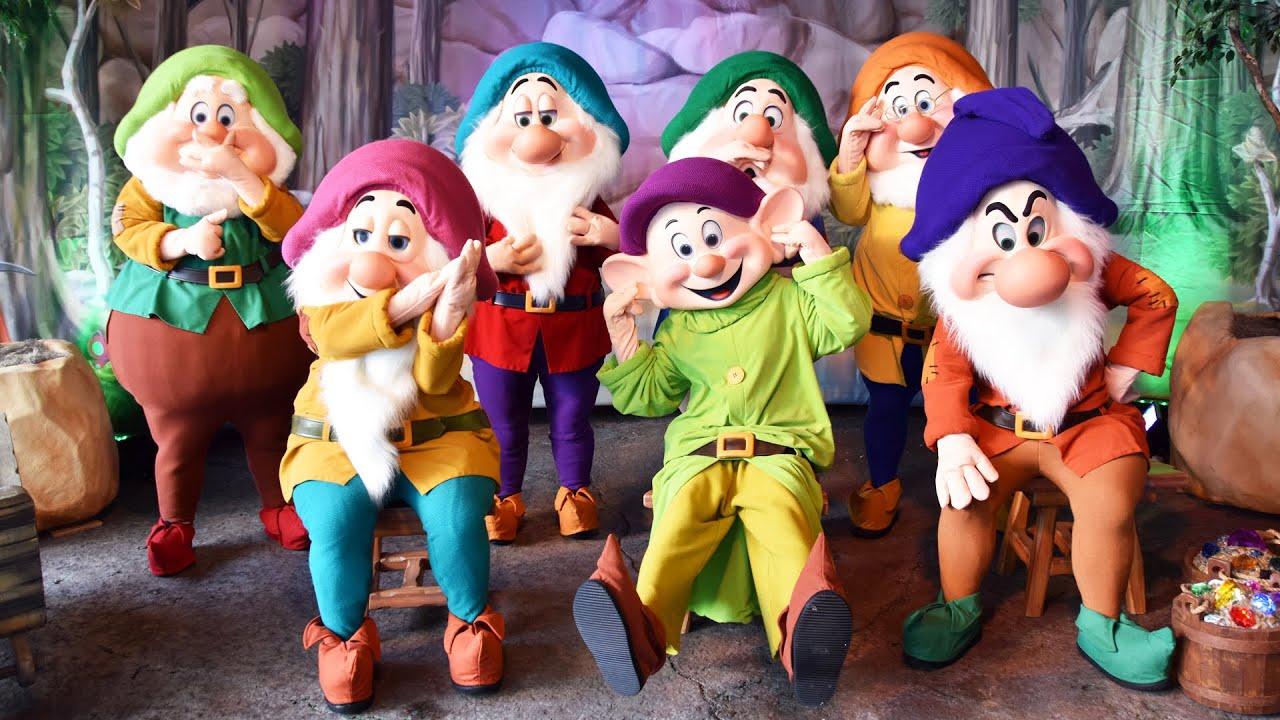 meet the seven dwarfs