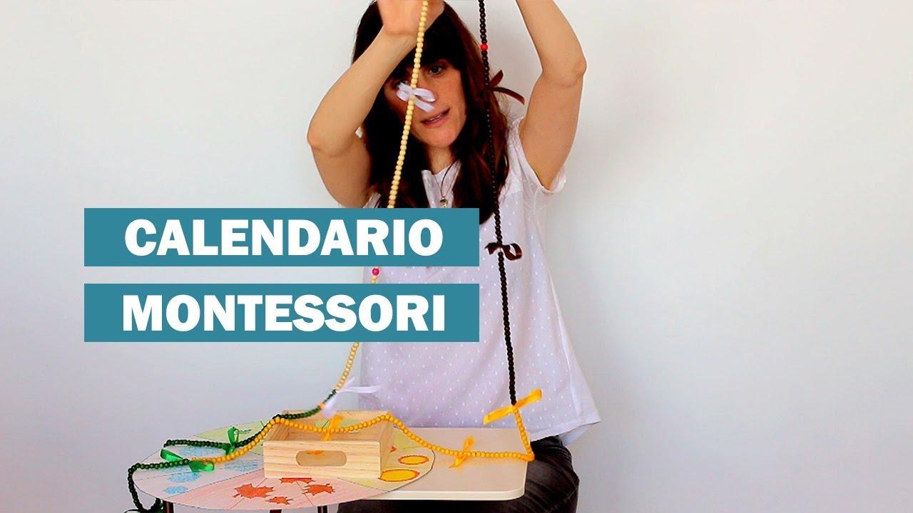 Calendario Montessori.Calendario Montessori El Metodo Montessori