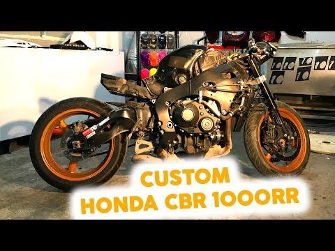HONDA CBR 1000 RR Fireblade Modifiye Ettik #1