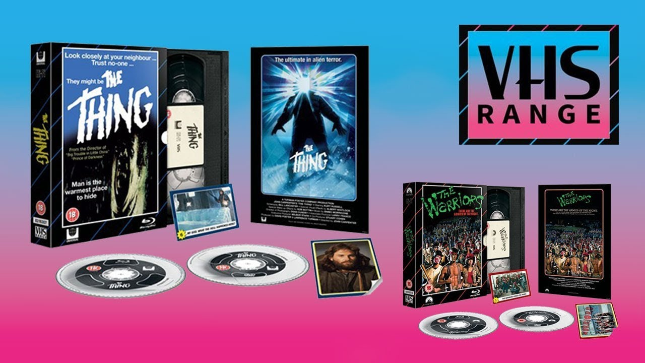 HMV Exclusive VHS Range Blu-ray Collection | The Thing | The Warriors