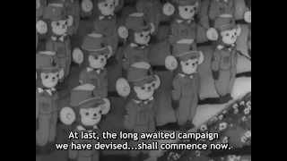 [First Anime Movie] 1945 Momotaro