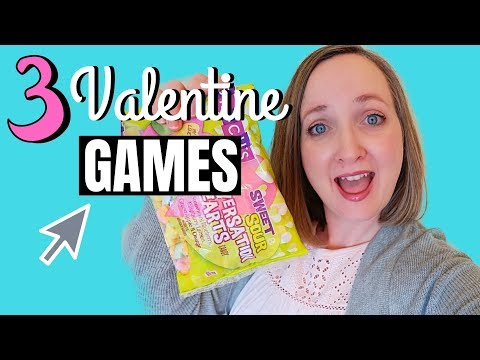 Active Valentine's Party Games for children