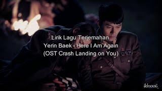Download Mp3 Lirik Terjemahan Yerin Baek - Here I Am Again  Ost Crash Landing On You
