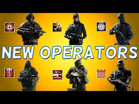 Rainbow Six Siege Operators NEW ATTACKERS and DEFENDERS - Rainbow Six Siege Overview