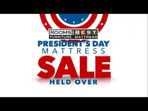 Rooms & Rest Furniture President's Day Mattress Sale Held Over