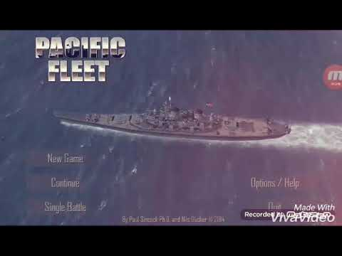 Pacific Fleet gameplay Sinking the Yamato with music