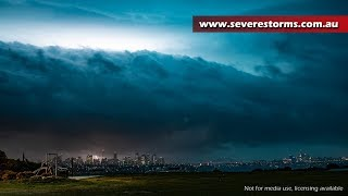 Monster Sydney Storm - 13th December, 2018