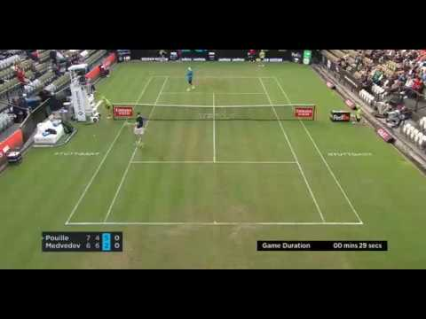 29 seconds. Is this the fastest service game in tennis?