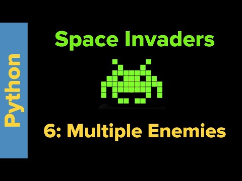 Python Game Programming Tutorial: Space Invaders 6 thumbnail