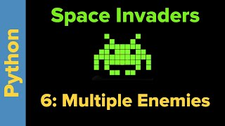 Python Game Programming Tutorial: Space Invaders 6