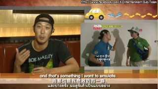 a sub team exclusive interview ha dong hoon ha ha running man
