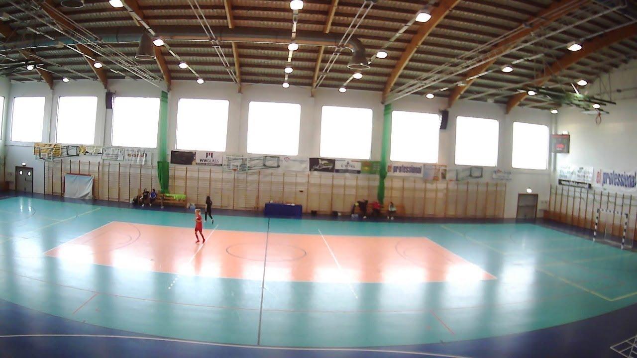 Mecz II Ligi PLF Kobiet GOSRiT Luzino - AZS UG Futsal Ladies - YouTube
