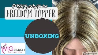 PUSH Freedom Topper 14 inch Unboxing Human Hair