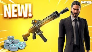 NEW Legendary Tactical Assault Rifle in Fortnite - GIVEAWAY AT 15k