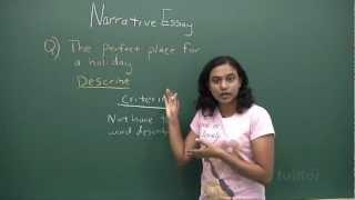 English Secondary 1/2 - Basic Level Composition Writing - Narrative Essay Demo Video