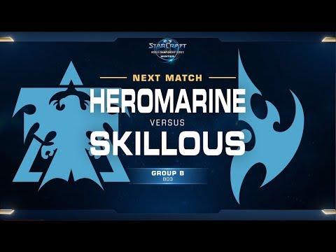 HeroMarine Vs SKillous TvP - Ro32 Group B - WCS Winter - Europe