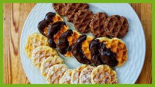 Gofret Kurabiye Tarifi - Waffle Kurabiyeler