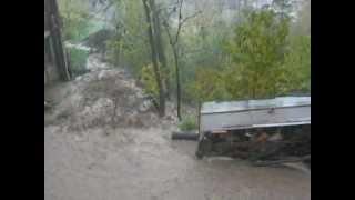 Alluvione Feltre a Villaga 11-11-2012