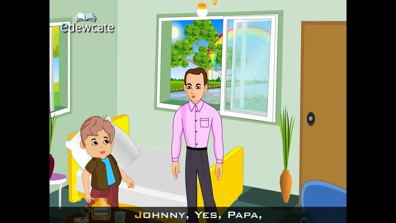 Edewcate english rhymes - Johnny Johnny yes papa - YouTube