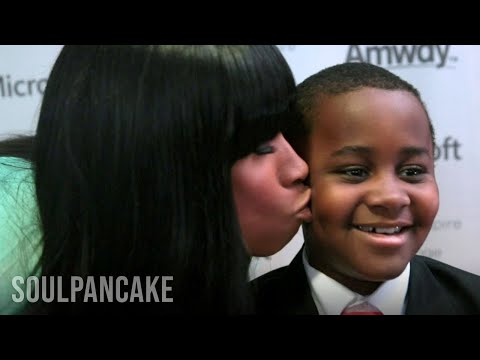 Jennifer Hudson and Kid President