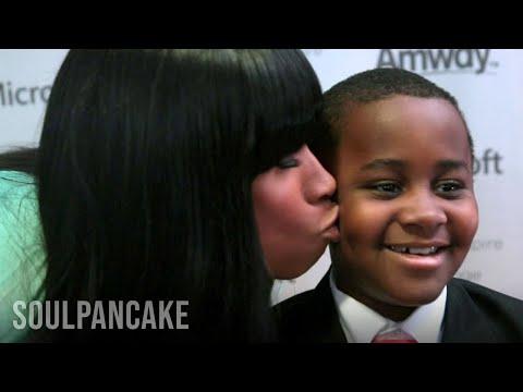 Jennifer Hudson and Kid President