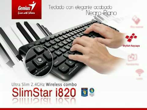 Drivers for Genius SlimStar i820 Keyboard/Mouse Binding