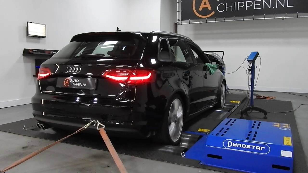 stage 1 tuning audi a3 8v 184hp dsg on dyno. Black Bedroom Furniture Sets. Home Design Ideas