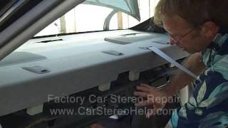 Toyota Camry Rear Speaker and Grill Cover Removal 2002-2006