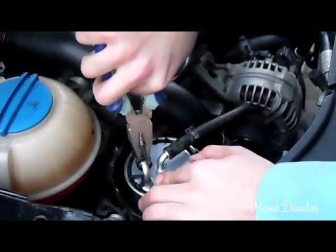 Mazot Filtresi Nasıl Değiştirilir   VW Polo 9n3