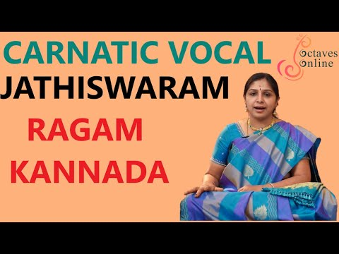 Jathiswaram : kannada Raag ( Sing along )
