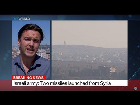 Syrian regime says it shot down Israeli jet, Israel denies