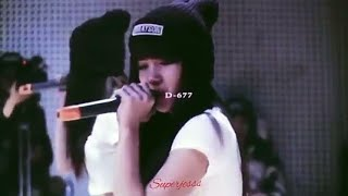 Lisa started early in her career - until training at YG INTERTAIMENT