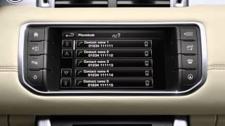 Range Rover Evoque Phone System | Land Rover USA