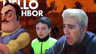 MI PRIMO PEQUEÑO SE ENFRENTA AL VECINO DE HELLO NEIGHBOR ! - ElChurches