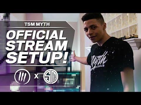TSM MYTH - OFFICIAL STREAM SETUP TOUR!
