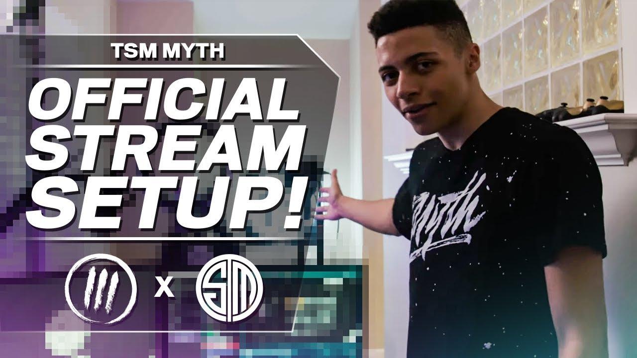 TSM MYTH – OFFICIAL STREAM SETUP TOUR!