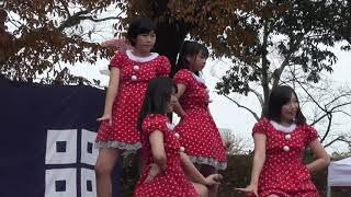 丸亀城クリスマスフェスタできみともキャンディがミニライブを披露素晴...