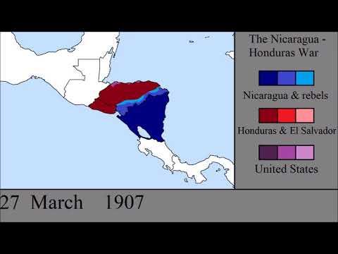 The Nicaragua - Honduras War: Every Day