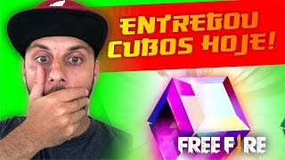 Garena Mandou Cubos Magicos Hoje! Free Fire