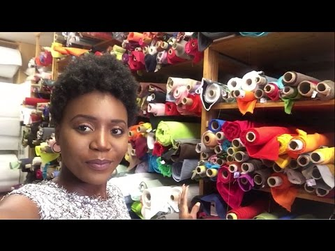 Come Fabric Shopping With Me