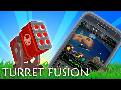 Turret Fusion | Clicker game | Android, iOS, Windows Phone