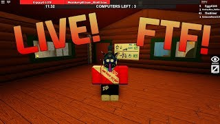 LIVE! [Flee The Facility ROBLOX]