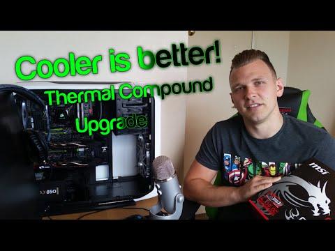 Thermal Compound Ultimate Upgrade Tutorial, MSI GTX 970 SLI, Liquid Pro, MX4, Better GPU Performance
