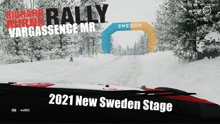 Richard Burns Rally 2021 New Sweden Stage | Vargassence MR with New Pacenotes