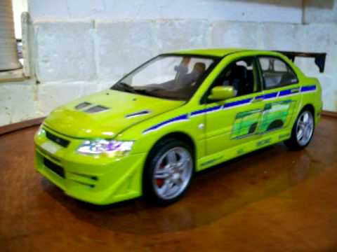 118 2002 Mitsubishi Lancer Evolution VII Fast and the Furious