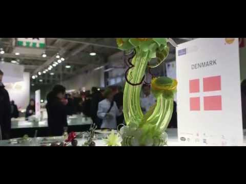 Danish Culinary Team World Cup Luxembourg 2014 cold platter